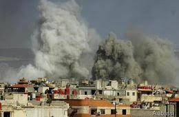 تجدد القصف الاسرائيلي على قطاع غزة يخلف ثلاثة شهداء بينهم امرأة حامل وطفلتها