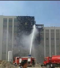 محافظ كربلاء يوجّه بتحقيق على إثر الحريق الذي شبّ في المستشفى التركي ويأمر بحجز المقصرين