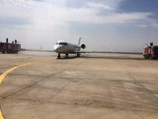 ذي قار تخصص قوة من الشرطة لتأمين محيط مطار الناصرية المدني بشكل كامل