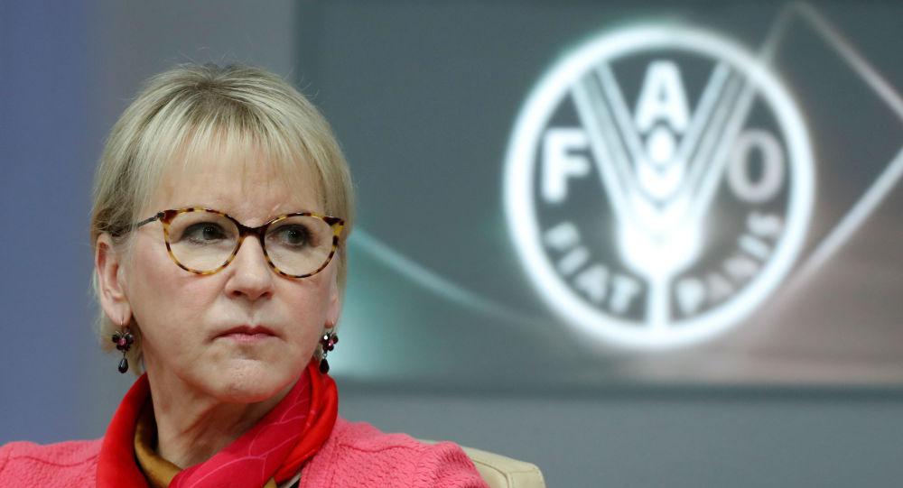 وزيرة خارجية السويد تعلن تقديم استقالتها