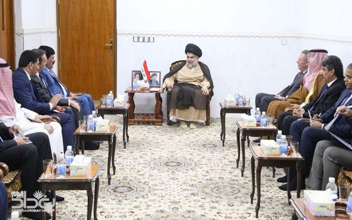 مصادر:  لقاء السفير السوري في بغداد بالصدر بروتوكولي
