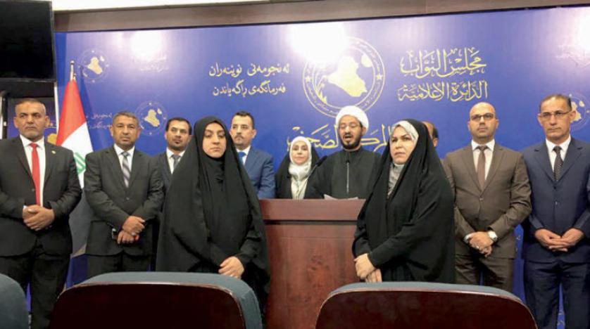 سائرون: جلسة أمس البرلمانية كشفت حجم الخلافات التي تؤكد عدم إجراء الانتخابات بموعدها