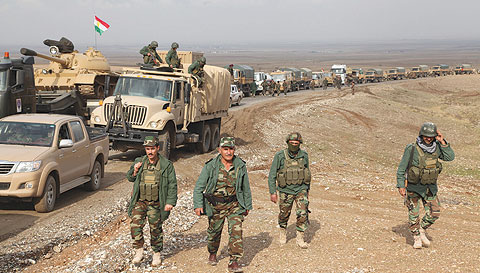 Peshmerga confirms the success of the offensive 100 percent and the liberalization of 13 villages