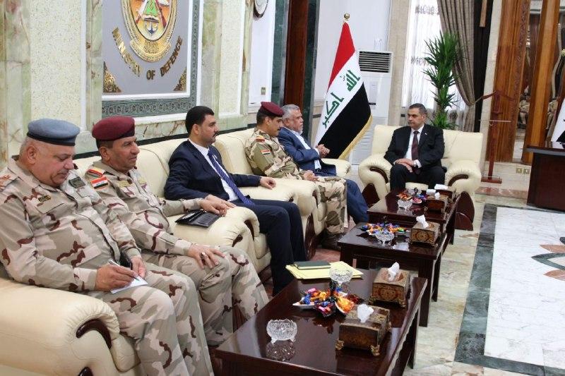 العامري من وزارة الدفاع: ندعم الجيش ومنظومتنا العسكرية
