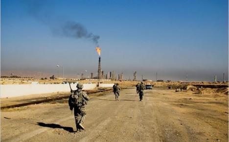 دواعش يتسللون من جبال حمرين ويهاجمون نقاط عسكرية قرب حقول علاس النفطية
