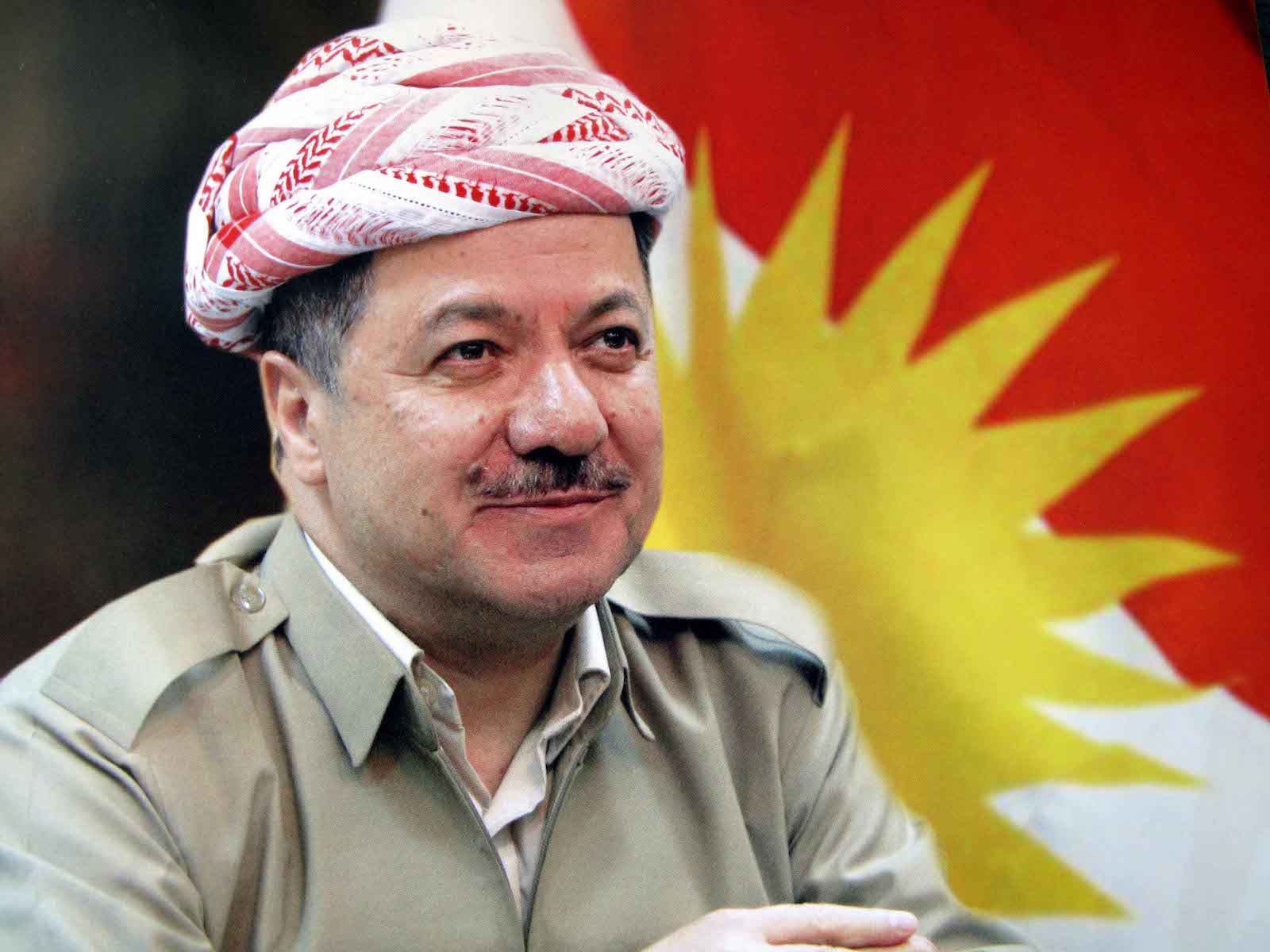 Massoud Barzani attacks Baghdad Image