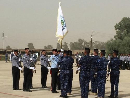 شرطة كركوك تحتفل بتخريج دورة المفوضين في مركز تدريب المحافظة