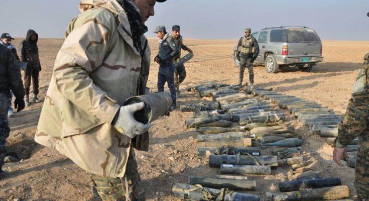 القبض على ارهابيين اثنين والعثور على كدسين للاعتدة تضم 30صاروخ قاذفة في عامرية الفلوجة