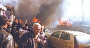 الجيش السورى والمعارضة المسلحة يشتبكان فى ريف دمشق