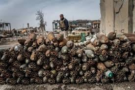 القوات الأمنية تعثر على 85 عبوة ناسفة في محافظة نينوى