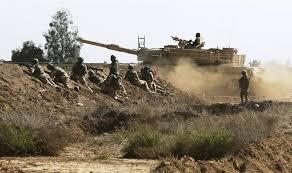 قوات الحشد تقطع امداد عصابات داعش الارهابية بين قضاء تلعفر وسوريا