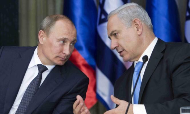 نتنياهو يعرض على بوتين خريطة السيطرة الإيرانية على سوريا