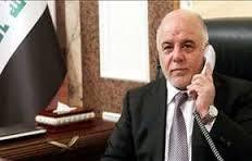العبادي يبحث مع بوتن  هاتفيا سير عملية تحرير الموصل والعلاقات الثنائية