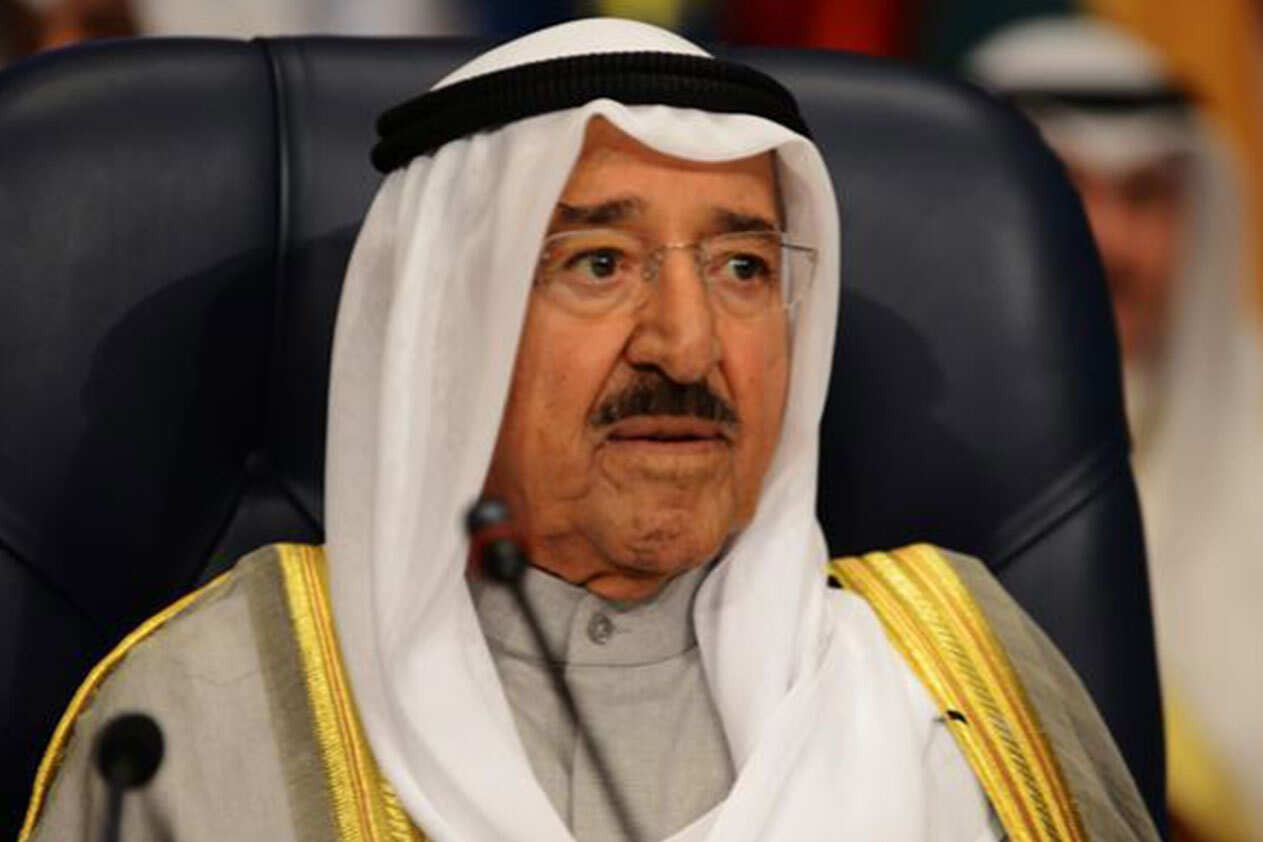 امير الكويت يعزي بحادثة التدافع في كربلاء