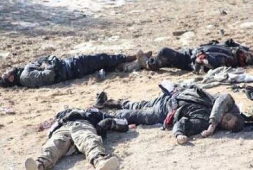 """مقتل خمسة عناصر من عصابات""""داعش""""جنوب غرب كركوك"""