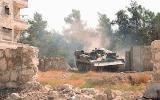 قصف قوات الأسد العشوائي يحرق مساحات زراعية شاسعة بحلب