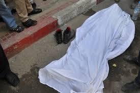 العثور على جثة مجهولة الهوية في منطقة حي البساتين ببغداد