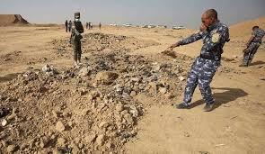 الكشف عن  مقبرة جماعية تضم رفات مدنيين في الموصل
