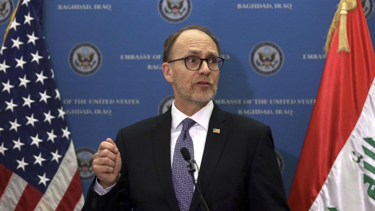 سيليمان يعلن مشاريع استثمارية امريكية في العراق