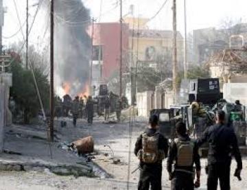القوات الأمنية تحرر منشأة الكندي ومقر الفرقة الثانية السابقة في الساحل الايسر من الموصل