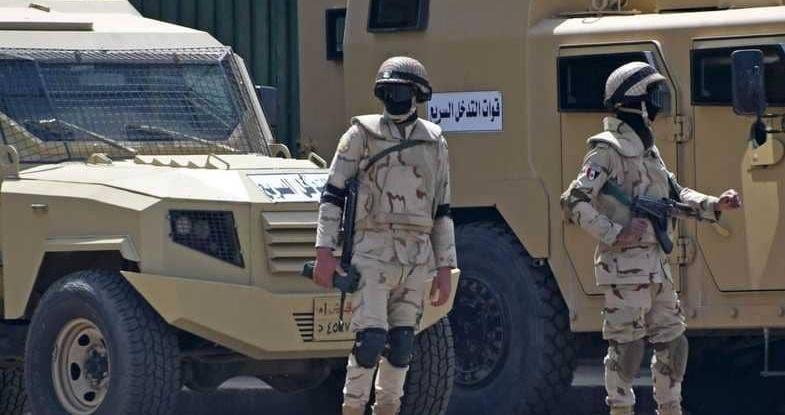 """""""ضربة قوية"""" من الجيش المصري للإرهابيين بسيناء"""