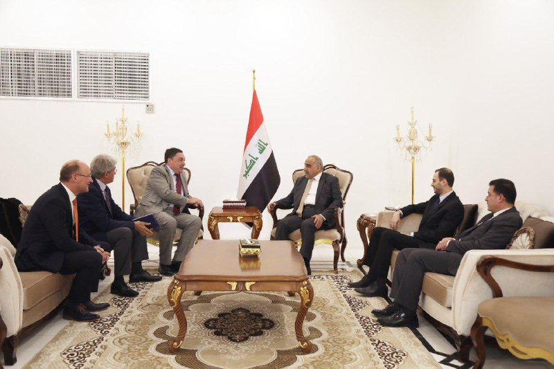 Abdul-Mahdi confirms Iraq's keenness to establish cooperative relations with the countries of the region Image