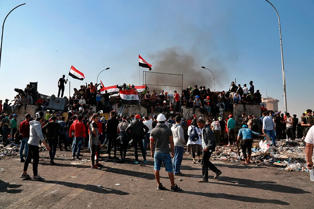 تعرف على الموقف الأمني في ساحات التظاهر ببغداد