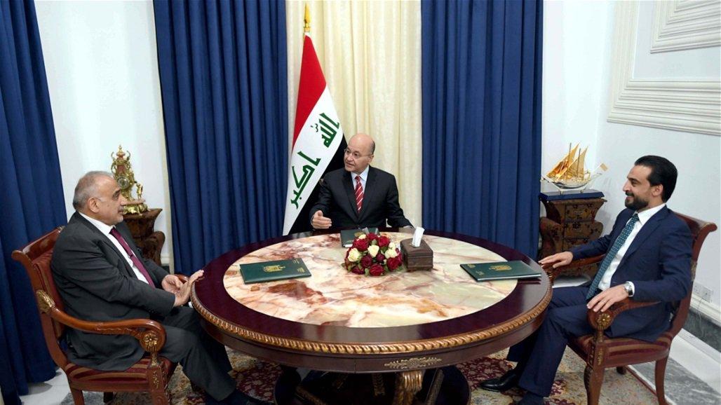 الرئاسات الثلاث تدعو للتحقيق بشأن تفجيرات مخازن الاسلحة