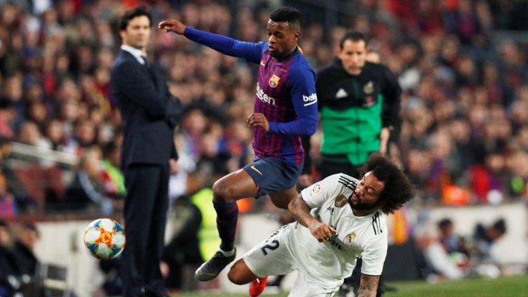 """""""ماركا"""" تحمّل مارسيلو مسؤولية هدف برشلونة وتصف ردة فعله بالباردة"""