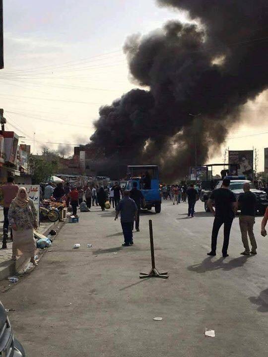 داعش تتبني التفجيرات الارهابية والتي تسببت بمقتل 67 شخصا خلال اليوم