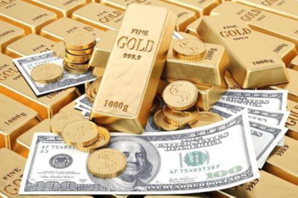 ارتفاع اسعار الذهب مقابل صعود اليورو
