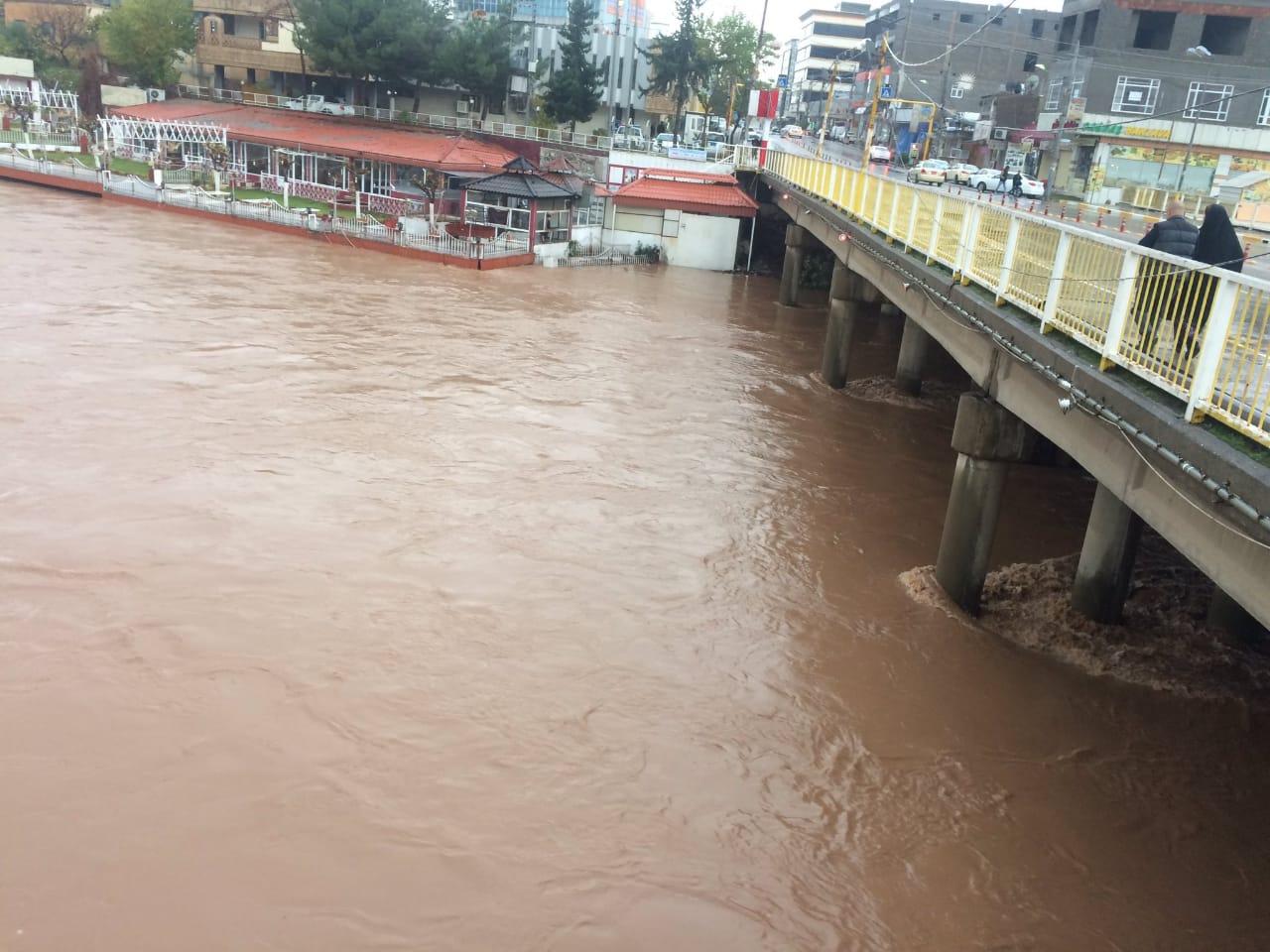 وفاة أربعة من أهالي الموصل جراء السيول