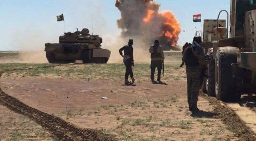 تدمير عجلتين مفخختين في ناحية حمام العليل جنوبي الموصل