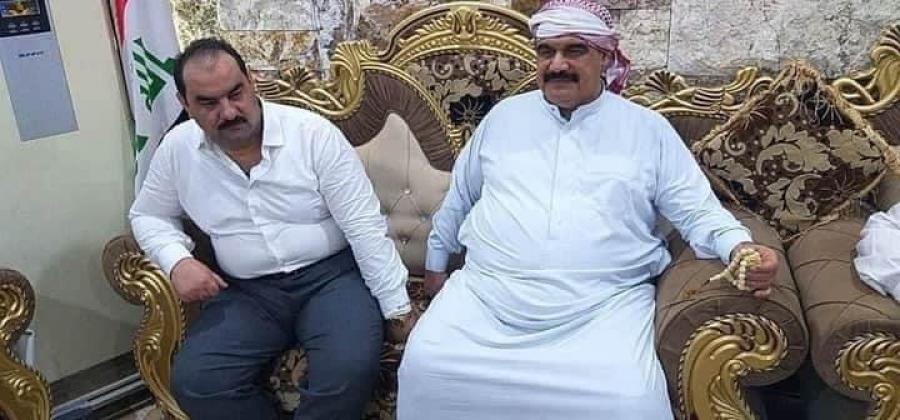 بالصور .. اطلاق سراح محمد خضير الحلبوسي مسؤول المتابعة في جهاز المخابرات