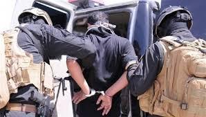 القوات الأمنية تقبض على متهمين بقضايا جنائية وارهابية شمالي بغداد