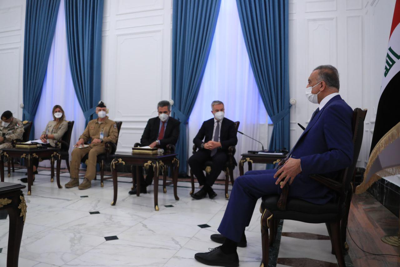 الكاظمي: الحكومة العراقية تواجه تحديا خطيرا يتمثل بالسلاح المنفلت
