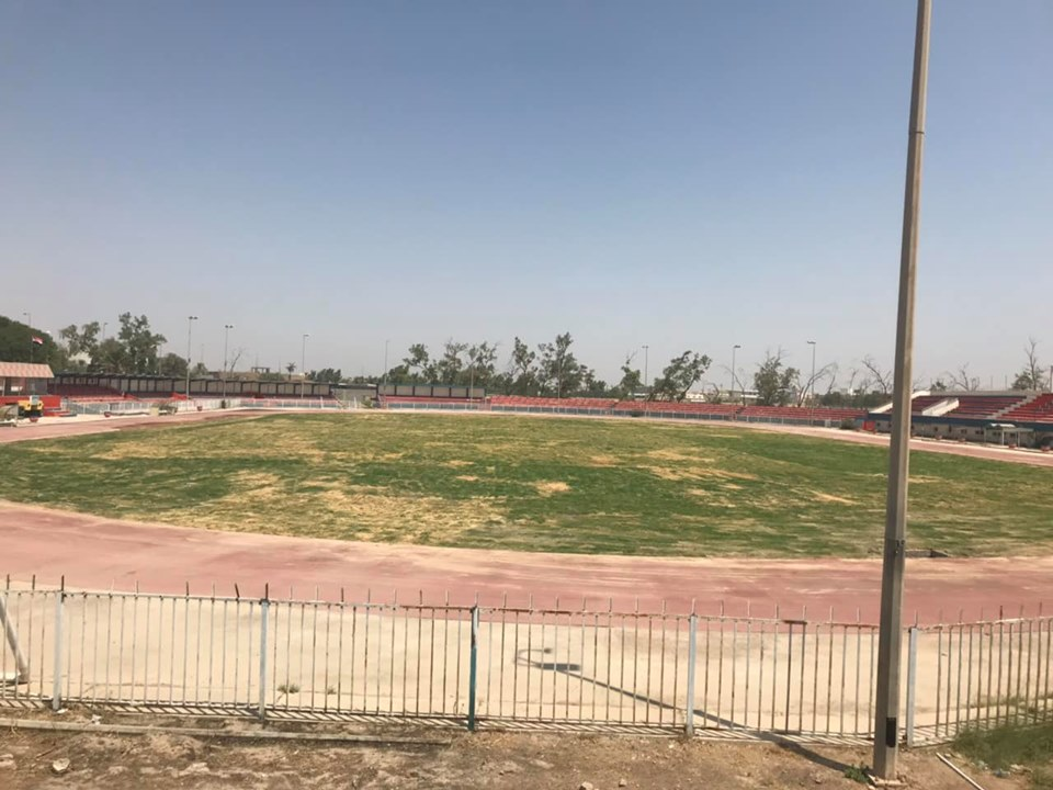 وزير الشباب والرياضة لأهالي ديالى: وعد الحر دين وسنعيد تأهيل ملعب المحافظة