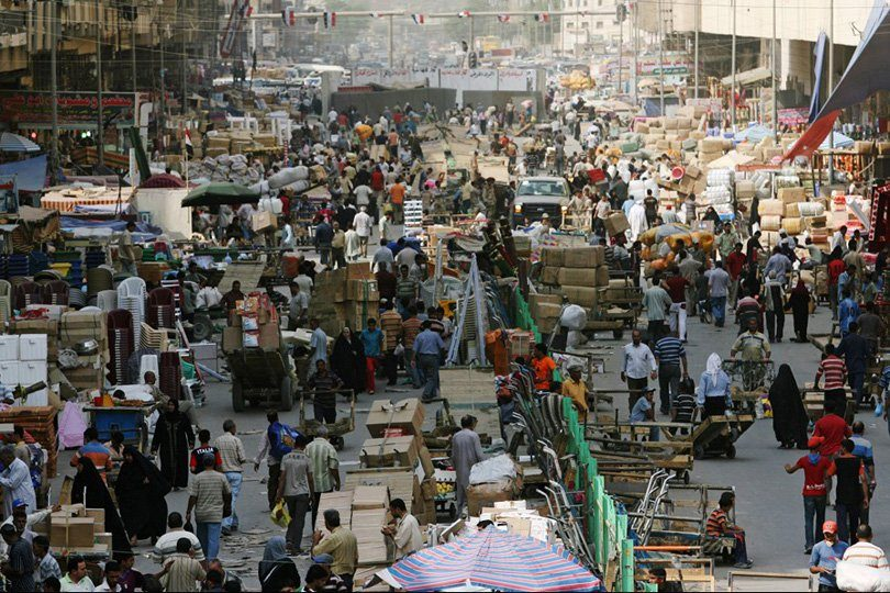 Planning: Iraq's population is growing by 1 million every year Image
