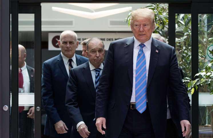 دونالد ترامب يقوض جهود مجموعة السبع لتبني موقف موحد