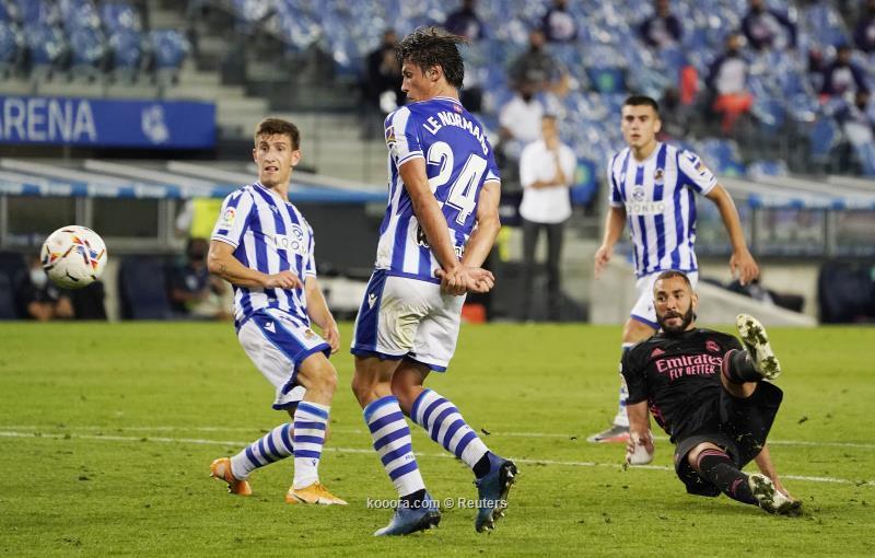 ريال مدريد يستهل مشواره في الليغا بتعادل سلبي أمام سوسيداد