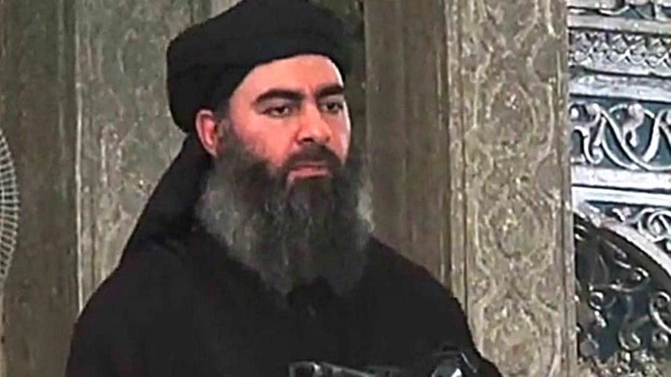 News of the overthrow of the leader of the organization calling on the terrorist Abu Bakr al-Baghdadi Image