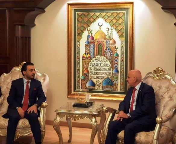 الحلبوسي والسفير العراقي بتركيا يبحثان وضع الجالية العراقية والتسهيلات المقدمة للطلبة العراقيين