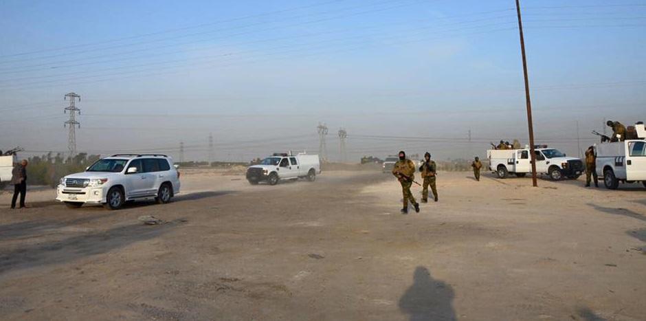 وصول القوات الأمنية الى شمال البصرة للقضاء على النزاعات العشائرية