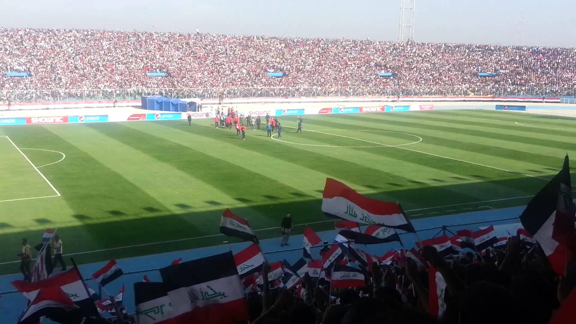 ملعب الشعب مسرحاً للكلاسيكو في نصف نهائي كأس العراق