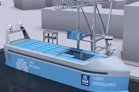 النرويج تطلق أول سفينة شحن ذاتية القيادة العام المقبل