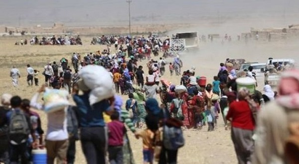 الهجرة: 7685 الاف اسرة نازحة من مناطق اطراف قضاء الشرقاط والقيارة منذ انطلاق عمليات التحرير