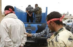 القبض على ثمانية متهمين بتهمة جنائية وارهابية في بغداد