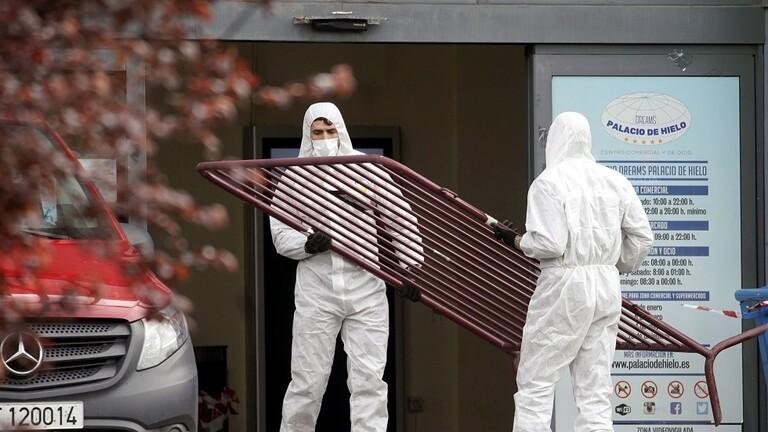 """إسبانيا تتجاوز الصين من حيث عدد الوفيات بــ """"فيروس كورونا"""""""