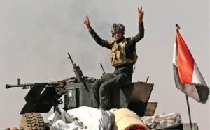 القوات الأمنية تحرر حي القاضية/2 في المحور الشمالي للساحل الايسر من مدينة الموصل