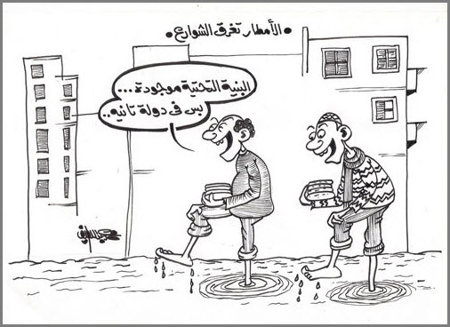 الامطار في العراق
